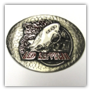 Led Zeppelin Oval Belt Buckle