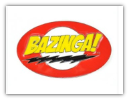 Bazinga Big Bang Theory Belt Buckle