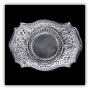 Western (blank circle center) Belt Buckle