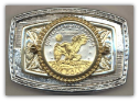 Eisenhower Dollar Belt Buckle (1971-1978)