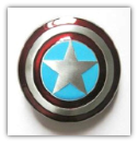 Captain America Belt Buckle