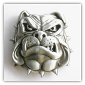 Bulldog Face Belt Buckle