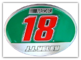 #18 J.J. Yeley Belt Buckle