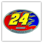 #24 Jeff Gordon Belt Buckle