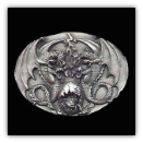 Fantasy Double Dragons Belt Buckle