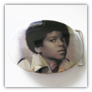 Michael Jackson Portrait Belt Buckle