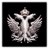 Double - Headed Eagle Belt Buckle