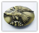 Eagle Belt Buckle - Antique Brass