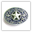 Texas Star Belt Buckle