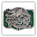 Oriental Dragon Belt Buckle