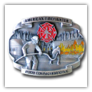American Fire Fighter 2008 Limited Edition Enameled Buckle
