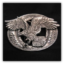 Attack Eagle Belt Buckle