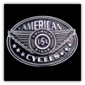 American Cycles Belt Buckle