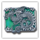 Dragon w/Scroll Belt Buckle