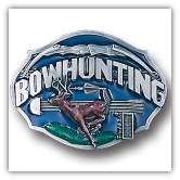 Bowhunting Belt Buckle