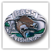 Bass Fishing Belt Buckle