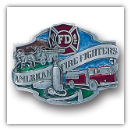 American Fire Fighter Belt Buckle