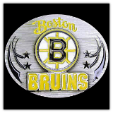Boston Bruins NHL Belt Buckle
