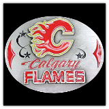 Calgary Flames NHL Belt Buckle