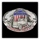 American Trucker Belt Buckle