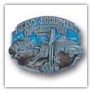 Heavy Equipment Operator Belt Buckle