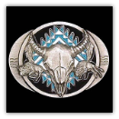 Buffalo Skull w/Bisons Belt Buckle