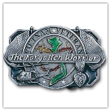 Vietnam - The Forgotten Warrior Belt Buckle