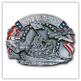 WWII Veteran Belt Buckle