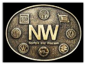 Norfolk and Western Belt Buckle