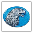 Eagle Head Profile Belt Buckle