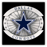 Dallas Cowboys Oversized NFL Belt Buckle