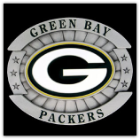 Green Bay Packers Oversized NFL Belt Buckle