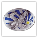 Eagle and the Sun Belt Buckle