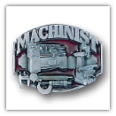 Machinist 3D Belt Buckle