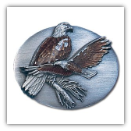Two Eagles Belt Buckle