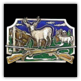 Deer Hunting Belt Buckle