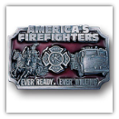 American Fire Fighters Belt Buckle