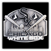 Chicago White Sox MLB Belt Buckle