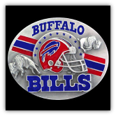 Buffalo Bills NFL Belt Buckle