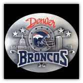 Denver Broncos NFL Belt Buckle