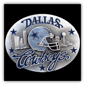 Dallas Cowboys NFL Belt Buckle