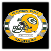 Green Bay Packers NFL Belt Buckle