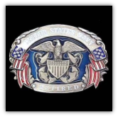 U.S. Navy Retired Belt Buckle