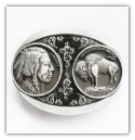 Buffalo Nickel Belt Buckle