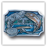 Fly Fishing Belt Buckle