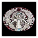 Indian Great Spirit Belt Buckle