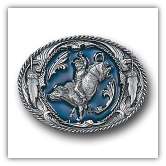 Bucking Bronco Belt Buckle