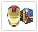 Iron Man 3D Belt Buckle - Golden