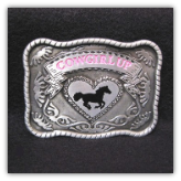 Cowgirl Up Belt Buckle