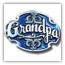 Grandpa w/Scroll Belt Buckle